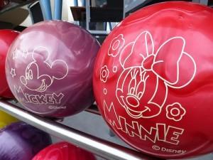 MickeyMinnieBowlingBalls